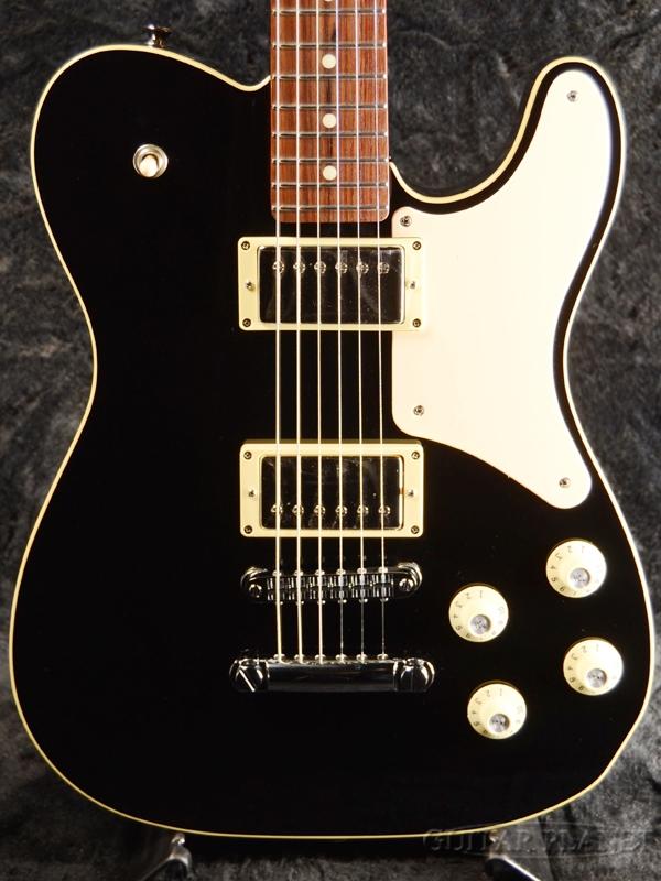高級ブランド Fender Made in Japan Troublemaker Telecaster -Black- 新品 [フェンダージャパン][トラブルメーカー][ブラック,黒][テレキャスター][Electric Guitar,エレキギター], カシワザキシ 1e678f4a