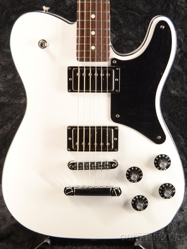 Fender Made in Japan Troublemaker Telecaster -Arctic White- 新品 [フェンダージャパン][トラブルメーカー][アークティックホワイト,白][テレキャスター][Electric Guitar,エレキギター]