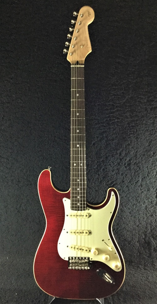 Fender Made In Japan Limited Edition Aerodyne Classic Stratocaster -Crimson Red Transparent- 新品[フェンダージャパン][エアロダイン][ストラトキャスター][レッド,赤][Electric Guitar,エレキギター]
