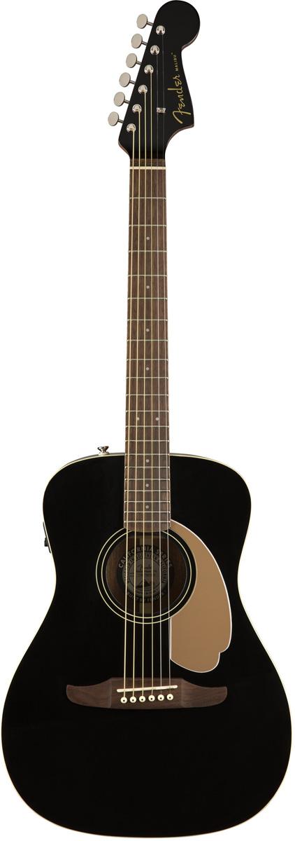 Fender Malibu Player Jetty Black 新品[フェンダー][ブラック,黒][Electric Acoustic Guitar,アコースティックギター,アコギ,エレアコ]