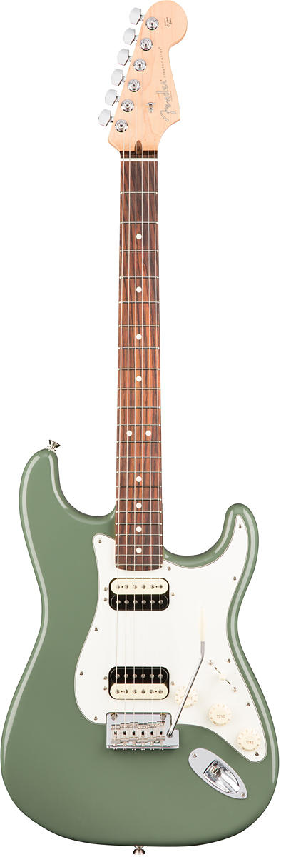 Fender USA American Professional Stratocaster HH Shawbucker - Antique Olive / Rose- 新品 《レビューを書いて特典プレゼント!!》[フェンダー][アメリカンプロフェッショナル,アメプロ][オリーブグリーン,緑][ストラトキャスター][Electric Guitar,エレキギター]