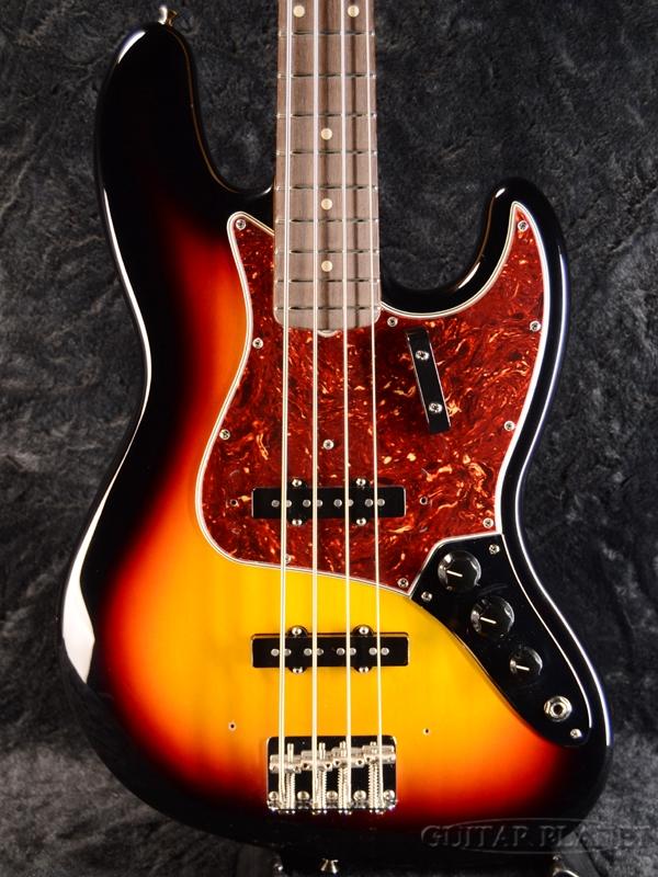 Fender Custom Shop 1964 Jazz Bass N.O.S -3 Tone Sunburst- 新品[フェンダーカスタムショップ,CS][3トーンサンバースト][Jazz Bass,JB,ジャズベースタイプ][Electric Bass,エレキベース]