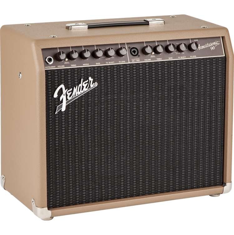 【90W】Fender USA Acoustasonic 90 新品アコースティックギター用コンボアンプ[フェンダー][アコースタソニック][Acoustic Guitar Combo Amplifier]
