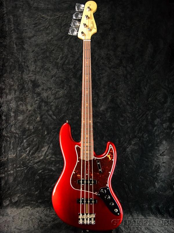 Fender USA American Original '60s Jazz Bass Candy Apple Red 新品[フェンダー][アメリカンオリジナル][キャンディアップルレッド,赤][JB,ジャズベース][Electric Bass,エレキベース]