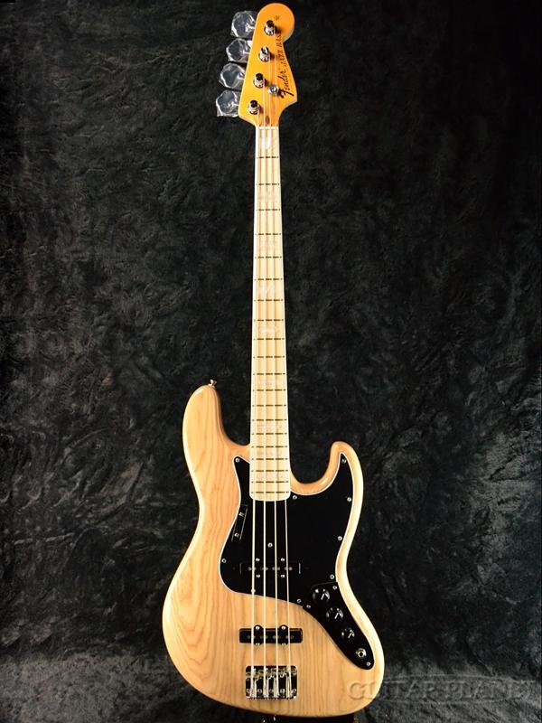 Fender USA American Original '70s Jazz Bass Natural 新品[フェンダー][アメリカンオリジナル][ナチュラル][JB,ジャズベース][Electric Bass,エレキベース]