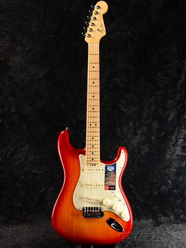 Fender USA American Elite Stratocaster ASH -Aged Cherry Burst / Maple- 新品[フェンダー][アメリカンエリート][アッシュ][ストラトキャスター][エイジドチェリーバースト][Electric Guitar,エレキギター]