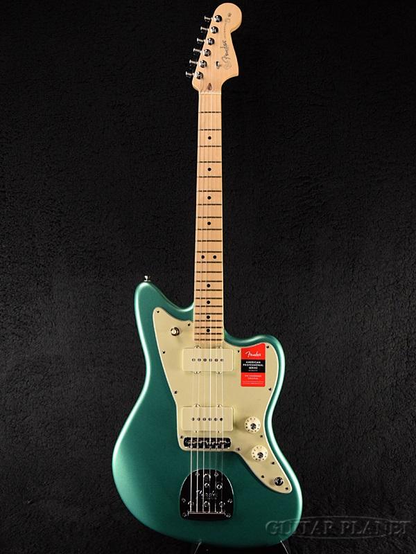Fender USA American Professional Jazzmaster -Mystic Seafoam / Maple- 新品[フェンダー][アメリカンプロフェッショナル][ミスティックシーフォーム,Blue,ブルー,青][ジャズマスター][Electric Guitar,エレキギター]