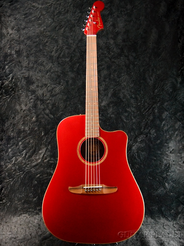 Fender Redondo Classic Hot Rod Red Metallic 新品[フェンダー][レッドメタリック,赤][Electric Acoustic Guitar,アコースティックギター,アコギ,エレアコ]