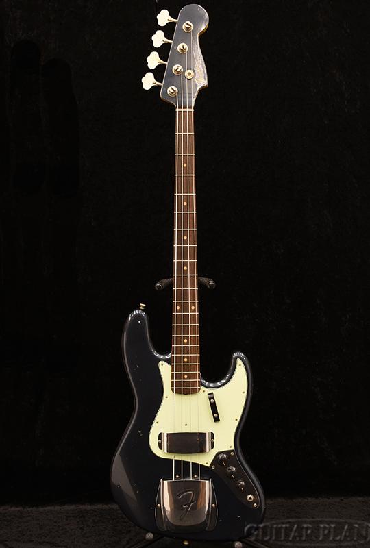 Fender Custom Shop 1962 Jazz Bass Journeyman Relic -Darker Lake Placid Blue/Matching Head 新品 [フェンダーカスタムショップ,cs][ジャズベース,JB][ダーカーレイクプラッシドブルー,青][マッチングヘッド][Electric Bass,エレキベース]