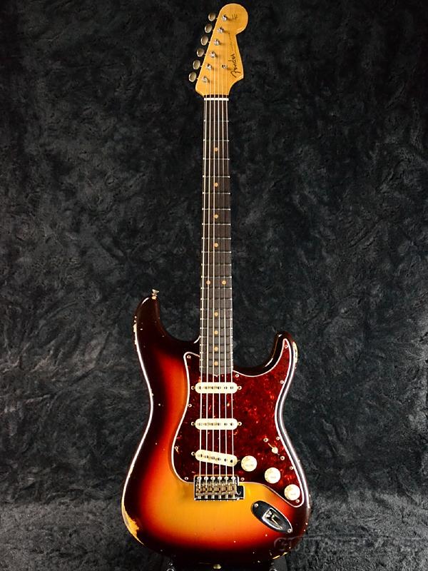 Fender Custom Shop ~2017 Custom Collection~ 1960 Stratocaster Relic -Chocolate 3 Color Sunburst- 新品[フェンダーカスタムショップ,CS][ストラトキャスター][チョコレート3カラーサンバースト][Electric Guitar,エレキギター][CZ532123]