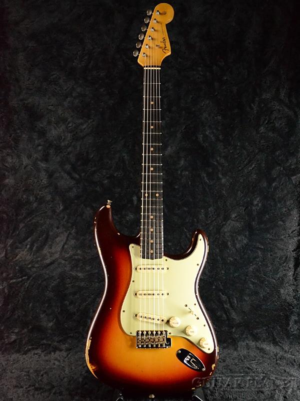 Fender Custom Shop ~2017 Custom Collection~ 1960 Stratocaster Relic -Chocolate 3 Color Sunburst- 新品[フェンダーカスタムショップ,CS][ストラトキャスター][チョコレート3カラーサンバースト][Electric Guitar,エレキギター][CZ532386]