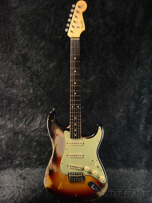 Fender Custom Shop MBS 1961 Stratocaster Heavy Relic -3 Color Sunburst- by Dennis Galuszka 新品[フェンダーカスタムショップ][デニス・ガルスカ][3カラーサンバースト,3CS][ST,ストラトキャスター][Electric Guitar,エレキギター]