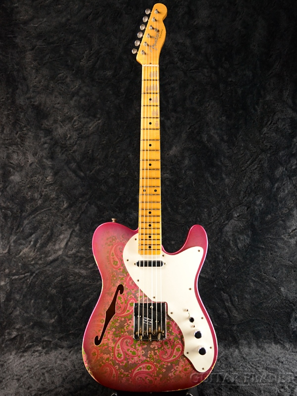 Fender Custom Shop ~2017 NAMM LIMITED~ 50's Thinline Telecaster Relic -Pink Paisley- 新品[フェンダーカスタムショップ][ピンクペイズリー][TL,テレキャスター][Electric Guitar,エレキギター]