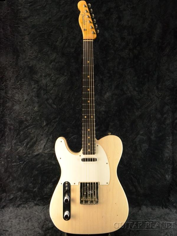 Fender Custom Shop ''Guitar Planet Exclusive'' 1959 Telecaster Journeyman Relic Left Handed -Aged White Blonde- 新品[フェンダーカスタムショップ][エイジドホワイトブロンド,白][左用,レフティー][TL,テレキャスター][Electric Guitar,エレキギター]