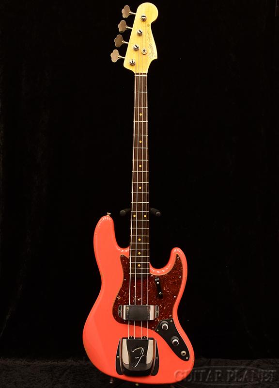 Fender Custom Shop 2017 NAMM Limited 1960 Jazz Bass Relic -Faded Aged Fiesta Red- 新品[フェンダーカスタムショップ,CS][フィエスタレッド,赤][JB,ジャズベース][Electric Bass,エレキベース]