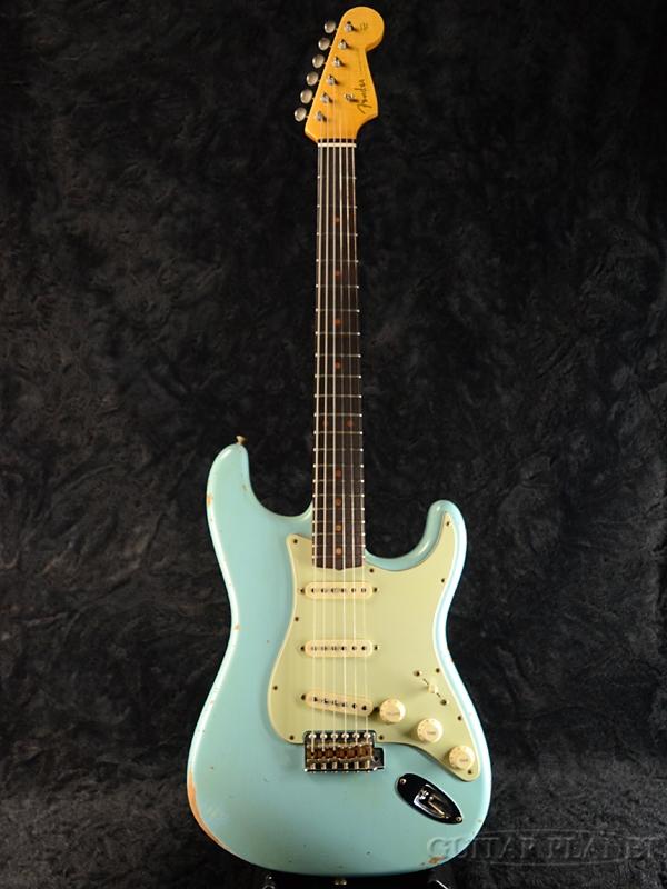 Fender Custom Shop '2017 Custom Collection' 1960 Stratocaster Relic -Aged Daphne Blue- 新品[フェンダーカスタムショップ][ダフネブルー,青][ストラトキャスター][Electric Guitar,エレキギター]