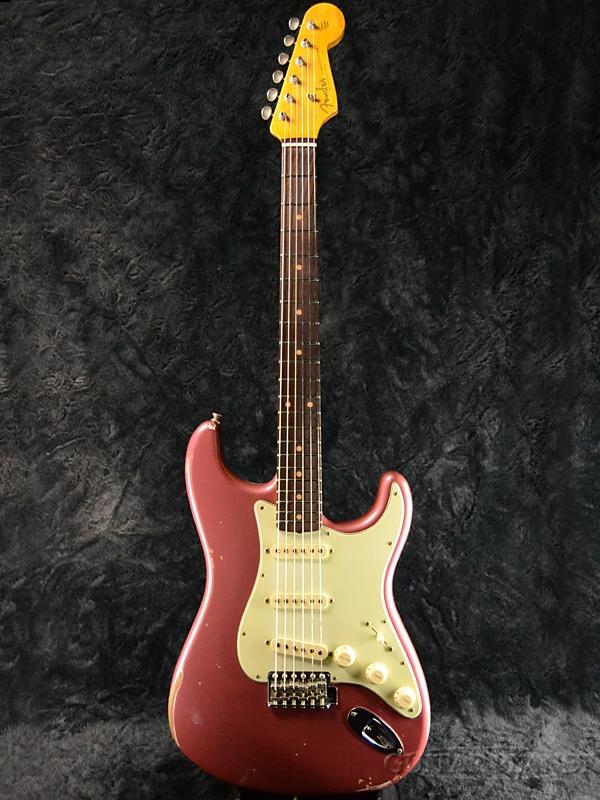 【7月限定大特価!!】Fender Custom Shop ''Guitar Planet Exclusive'' 1960 Stratocaster Relic -Aged Burgundy Mist Metallic- 新品[フェンダーカスタムショップ][ストラトキャスター][2カラーサンバースト][Electric Guitar,エレキギター]