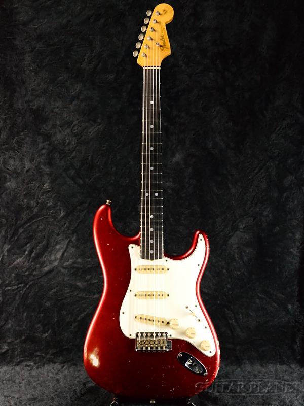 Fender Custom Shop MBS 1965 Stratocaster Journeyman Relic -Candy Apple Red- by Greg Fessler 新品[フェンダーカスタムショップ][キャンディーアップルレッド,赤][ST,ストラトキャスター][Electric Guitar,エレキギター]