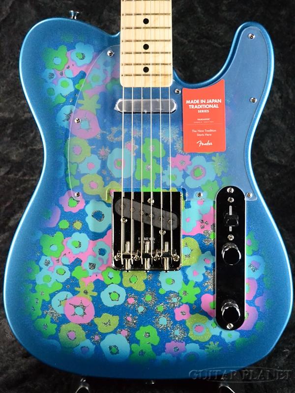 【限定特価!!】Fender Made In Japan Traditional 69 Telecaster Blue Flower 新品 [フェンダージャパン][トラディショナル][ブルーフラワー,青][テレキャスター][Electric Guitar,エレキギター]