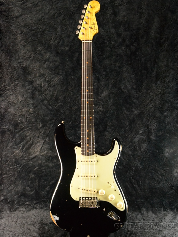 Fender Custom Shop ''Guitar Planet Exclusive'' 1960 Stratocaster Relic -Aged Black- 新品[フェンダーカスタムショップ][ストラトキャスター][エイジドブラック,黒][Electric Guitar,エレキギター]