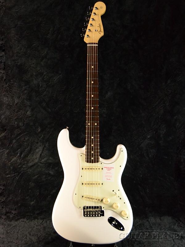 限定版 Fender Arctic Made In Japan Hybrid 60s Stratocaster Arctic White White 60s 新品 《レビューを書いて特典プレゼント!!》[フェンダージャパン][ハイブリッド][アークティックホワイト,白][ストラトキャスター][Electric Guitar,エレキギター], 宍喰町:0d6f50d5 --- gerber-bodin.fr