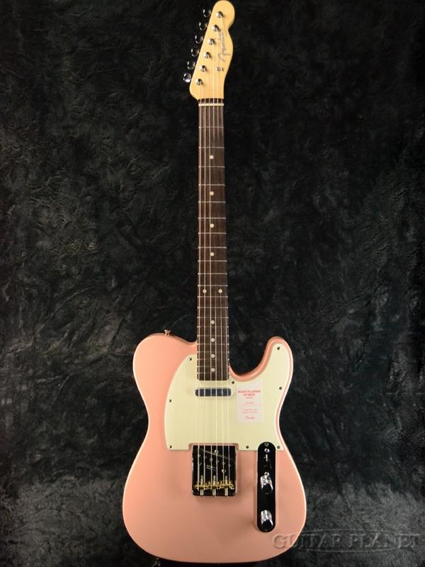 Fender Made In Japan Hybrid 60s Telecaster Flamingo Pink 新品 《レビューを書いて特典プレゼント!!》[フェンダージャパン][ハイブリッド][フラミンゴピンク][テレキャスター][Electric Guitar,エレキギター]