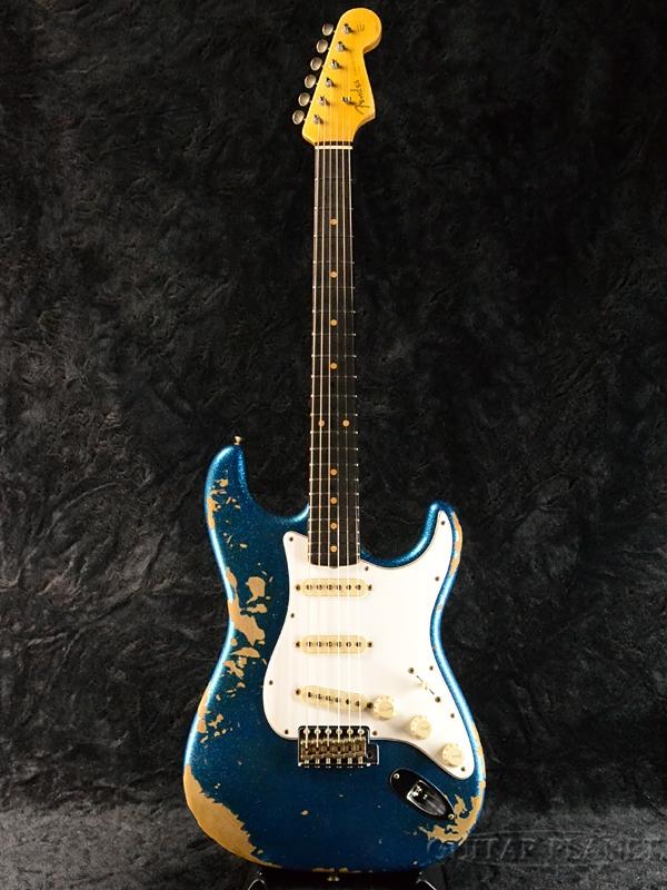 Fender Custom Shop ~2017 Custom Shop Road Show LIMITED~ 1960 Stratocaster Heavy Relic -Blue Sparkle- 新品[フェンダーカスタムショップ,CS][ストラトキャスター][ブルースパークル,青][Electric Guitar,エレキギター]