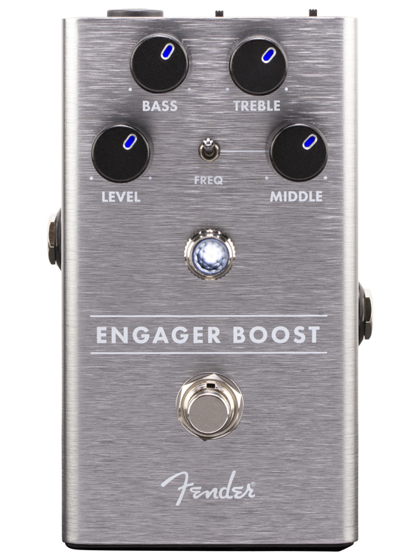 Fender Engager Boost Pedal 新品 ブースター[フェンダー][Booster][Effector,エフェクター,ペダル]