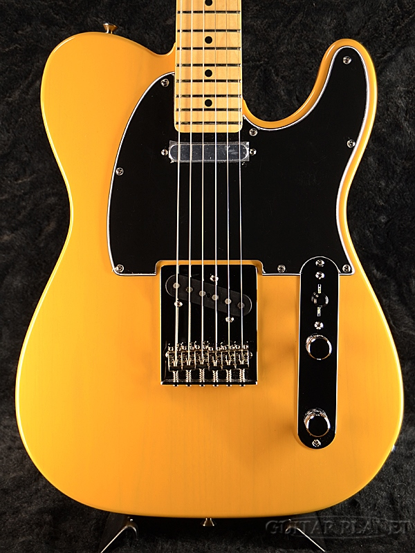 Fender Mexico Player Telecaster -Butterscotch Blonde/Maple- 新品【期間限定FE610プレゼント!!】[フェンダー][プレイヤー][バタースコッチブロンド,黄,木目][テレキャスター][Electric Guitar,エレキギター]