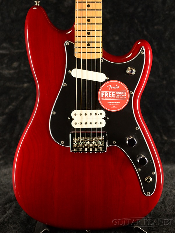 Fender Mexico Player Duo-Sonic HS -Crimson Red Transparent- 新品[フェンダー][プレイヤー][クリムゾンレッドトランスペアレント,赤][デュオソニック][Electric Guitar,エレキギター]