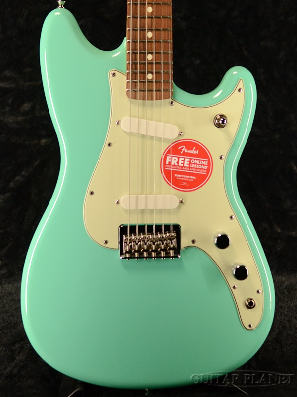 Fender Mexico Player Duo Sonic -Seafoam Green- 新品[フェンダー][プレイヤー][シーフォームグリーン,緑][デュオソニック][Electric Guitar,エレキギター]