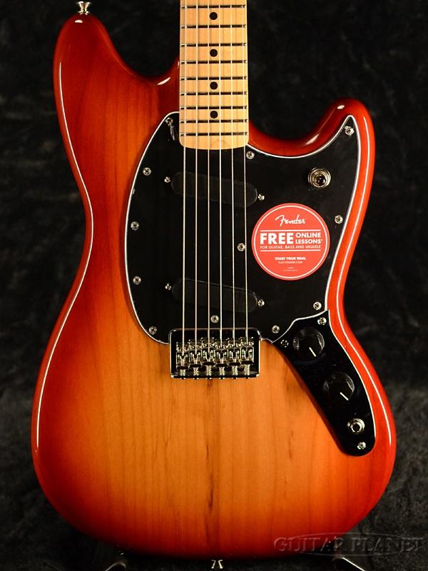 Fender Mexico Player Mustang -Sienna Sunburst- 新品[フェンダー][プレイヤー][シエナサンバースト][ムスタング][Electric Guitar,エレキギター]