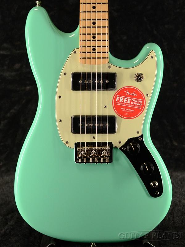 Fender Mexico Player Mustang 90 -Seafoam Green- 新品[フェンダー][プレイヤー][シーフォームグリーン,緑][ムスタング][Electric Guitar,エレキギター]