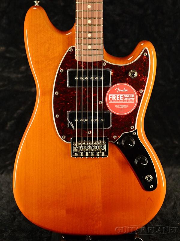Fender Mexico Player Mustang 90 -Aged Natural- 新品[フェンダー][プレイヤー][ナチュラル][ムスタング][Electric Guitar,エレキギター]