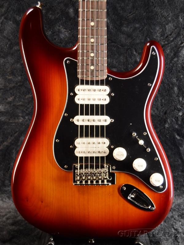 Fender Mexico Player Stratcaster HSH TBS / Pau Ferro 新品[フェンダー][プレイヤー][Tobacco Sunburst,サンバースト][Stratocaster,ストラトキャスタータイプ][Electric Guitar,エレキギター]