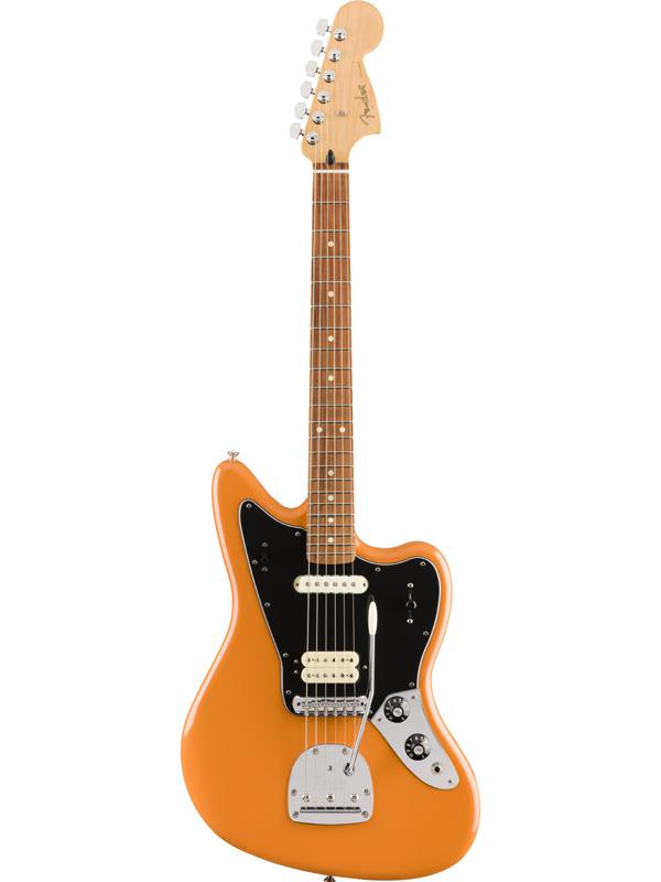 Fender Mexico Player Jaguar -Capri Orange- 新品[フェンダー][プレイヤー][カプリオレンジ][ジャガー][Electric Guitar,エレキギター]