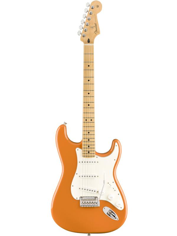 Fender Mexico Player Stratocaster -Capri Orange- 新品[フェンダー][プレイヤー][カプリオレンジ][Stratocaster,ストラトキャスタータイプ][Electric Guitar,エレキギター]