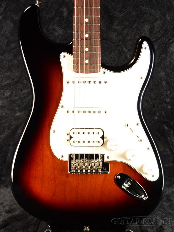 Fender Mexico Player Stratocaster HSS -3-Color Sunburst/PF- 新品[フェンダー][プレイヤー][サンバースト,木目][Stratocaster,ストラトキャスタータイプ][Electric Guitar,エレキギター]