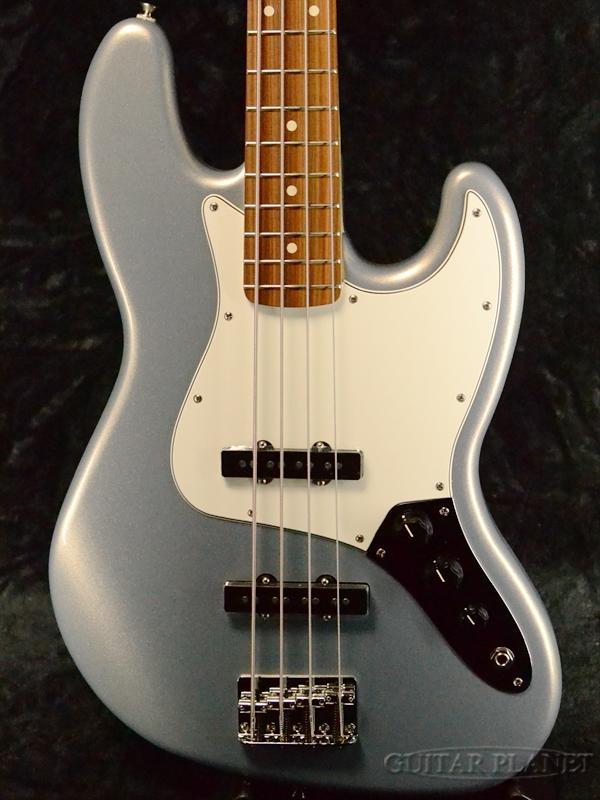 Fender Mexico Player Jazz Bass -Silver- 新品[フェンダー][プレイヤー][シルバー][ジャズベース][Electric Bass,エレキベース]