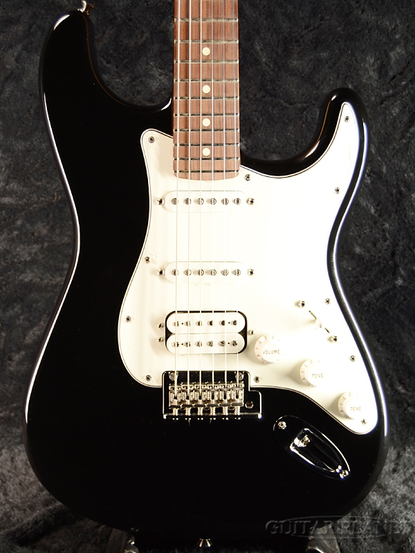 Fender Mexico Player Stratocaster HSS -Black- 新品[フェンダー][プレイヤー][ブラック,黒][テレキャスター][Electric Guitar,エレキギター]
