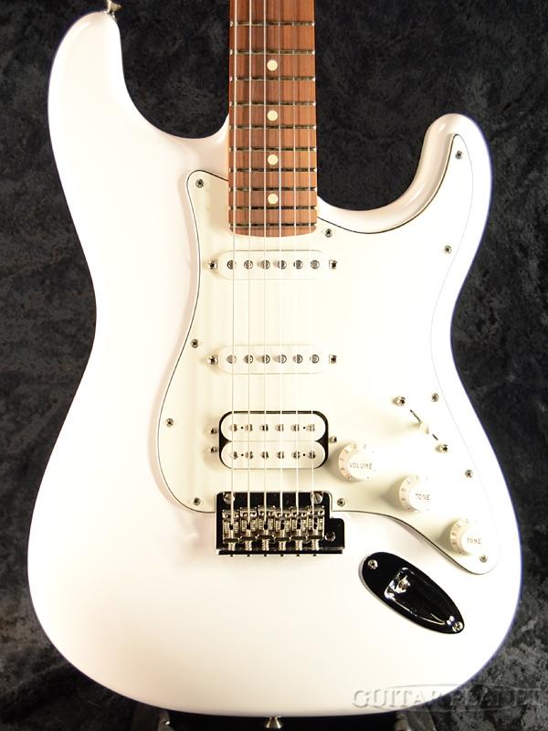 Fender Mexico Player Stratocaster HSS -Polar White- 新品[フェンダー][プレイヤー][ホワイト,白][Stratocaster,ストラトキャスタータイプ][Electric Guitar,エレキギター]