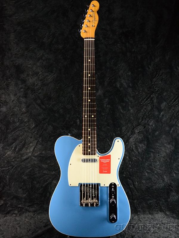 Fender Made In Japan Traditional 60s Telecaster Custom California Blue 新品 《レビューを書いて特典プレゼント!!》[フェンダージャパン][トラディショナル][カルフォルニアブルー,青][テレキャスター][Electric Guitar,エレキギター]