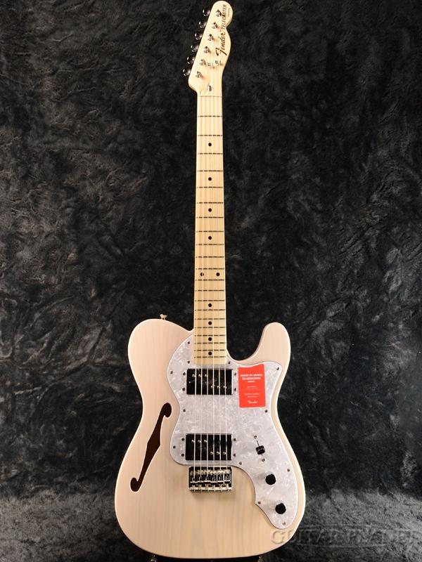 Fender Made In Japan Traditional 70s Telecaster Thinline -US Blonde- 新品 《レビューを書いて特典プレゼント!!》[フェンダージャパン][トラディショナル][ブロンド,白][テレキャスターシンライン][Electric Guitar,エレキギター]