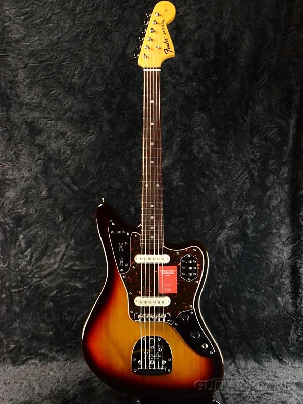 Fender Made In Japan Traditional 60s Jaguar 3-Color Sunburst 新品《レビューを書いて特典プレゼント!!》[フェンダージャパン][トラディショナル][3カラーサンバースト][ジャガー][Electric Guitar,エレキギター]