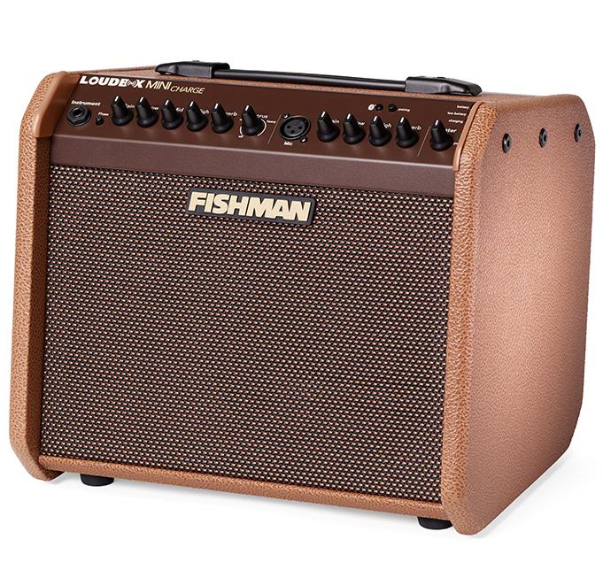 【60W】FISHMAN Loudbox mini Charge 新品[フィッシュマン][ラウドボックスミニチャージ][Acoustic Guitar Combo Amplifier,アコースティックギター用コンボアンプ][動画]