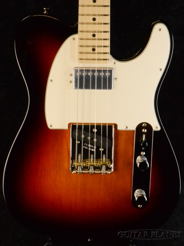 Fender USA American Performer Telecaster Hum -3-Color Sunburst / Maple- 新品[フェンダーUSA][アメリカンパフォーマー][テレキャスター][サンバースト][Electric Guitar,エレキギター]