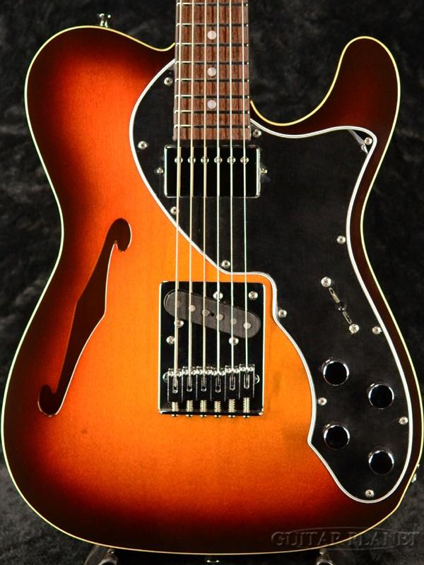【2020NAMM出展品】Freedom Custom Guitar Research Green Pepper Plywood -CS Sunburst- 新品[フリーダム][グリーンペッパー][国産][チェリーサンバースト,赤][Telecaster Thinline,テレキャスターシンライン][エレキギター,Electric Guitar]