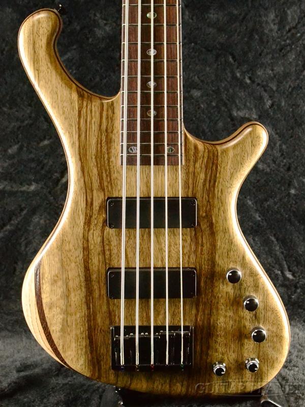 FREEDOM CUSTOM GUITAR RESEARCH Dulake Flat 5st 新品[フリーダム][国産][5strings,5弦][Natural,ナチュラル,木目][Electric Bass,エレキベース]