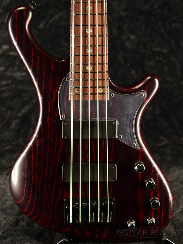 FREEDOM CUSTOM GUITAR RESEARCH Order Style Dulake Libero 5st -Lightning Joe (LJ)- 新品[フリーダム][国産][5strings,5弦][Black,Red,ブラック,レッド,黒,赤][Electric Bass,エレキベース]
