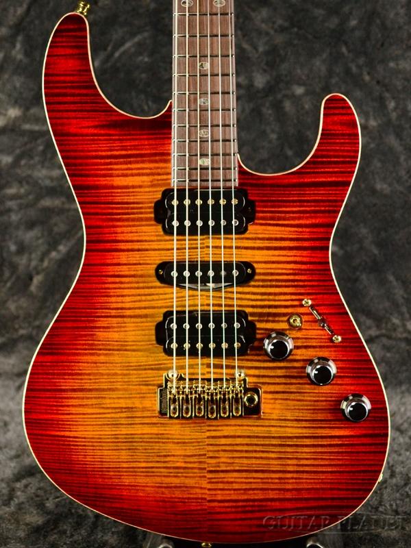 Research Guitar] 【当店スタッフ選定材】Freedom Guitar Hydra 2Point Custom -傾奇者(KBM)- 新品[フリーダム][ハイドラ][国産][Red,レッド,赤][Stratocaster,ストラトキャスター][エレキギター,Electric